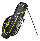 Masters Golf - SL650 Supalite Standbag Black/Lime