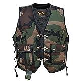 Camouflage Textil Kutte Bikerweste Rockerweste