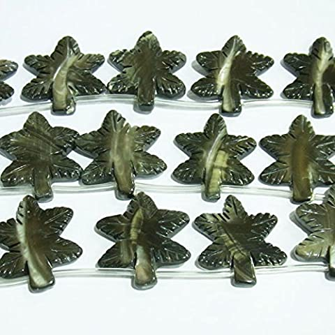 thetastejewelry 20x 25mm Shell Blume Charm Bead Jewelry Making Findings Enden–2009
