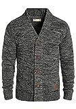 SOLID Herren Powell Strickjacke Cardigan mit V-Ausschnitt aus 100% Baumwolle Meliert