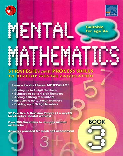 SAP MENTAL MATHEMATICS BOOK 3, NA [Paperback] NA par NA