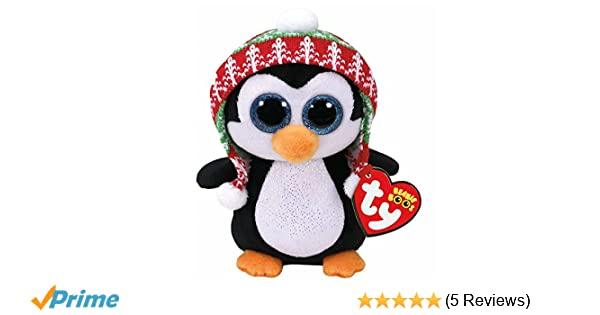 18f9cf7f7e4 Ty Beanie Boo 37239 Penelope the Penguin 15cm  Amazon.co.uk  Toys   Games