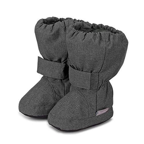 Sterntaler Unisex Baby-Schuh Stiefel, Grau (Anthrazit Mel. 592), 18 EU