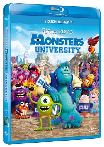 Monsters University [Blu-ray] [IT Import]