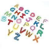 Fornateu 1 Borsa Magnetica Inglese Lettera Frigorifero Sticker dei Bambini dei Bambini del Fumetto Resina cognitivi Early Learning La Formazione Gioca