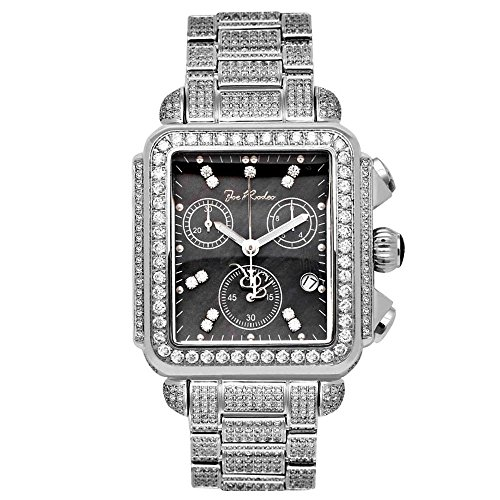 Joe Rodeo Diamante Orologio da donna - MADISON argento 10,25 CTW