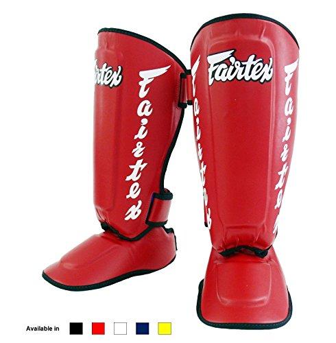 Espinilleras Fairtex SP7 Twister para boxeo