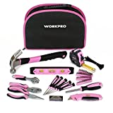 WORKPRO Kit d' Outils 103 Pièces Pink Rose