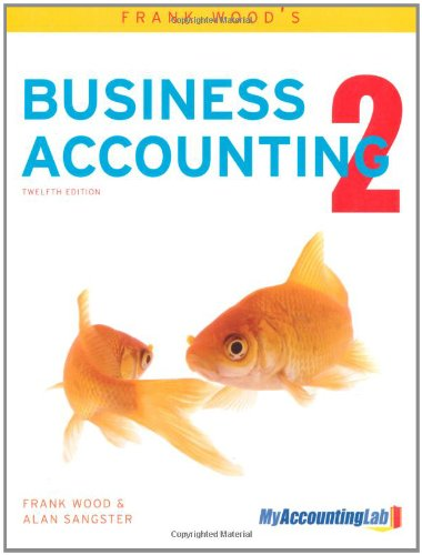 Frank Wood's Business Accounting Volume 2 with MyAccountingLab access card