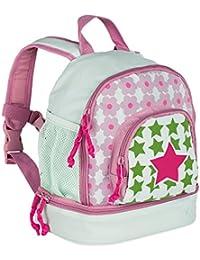 Preisvergleich für Lässig Mini Backpack Kinderrucksack Kindergartentasche, Brotdosenfach unten, Starlight magenta