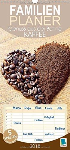 er Bohne (Wandkalender 2018 PRO_49_format hoch): Kaffee: Das Handwerk eines Barista, Familienplaner 5 Spalten (Familienplaner, 14 Seiten ) (CALVENDO Lifestyle) ()