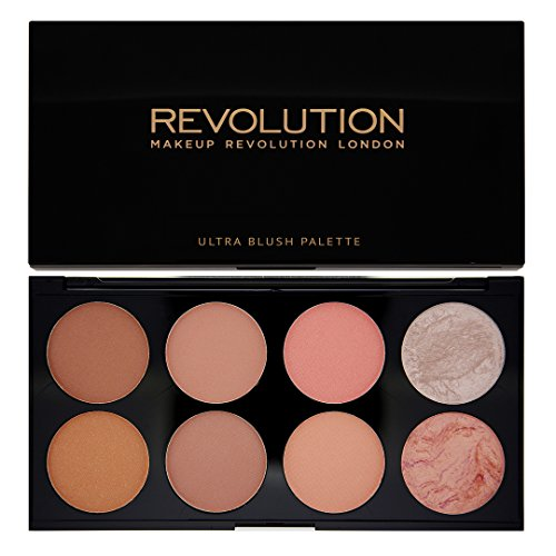Makeup Revolution Ultra Blush and Highlight Palette - HOT SPICE, 13 g