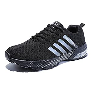 51EmTu8PPVL. SS300  - Kuako Men Women Running Shoes Air Trainers Fitness Casual Sports Walk Gym Jogging Athletic Sneakers