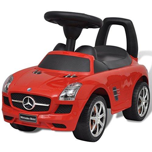 Regler Drücken (vidaXL Rutschauto 6 Geräusche Rot Rutscher Kinderauto Bobbycar Kinderfahrzeug)
