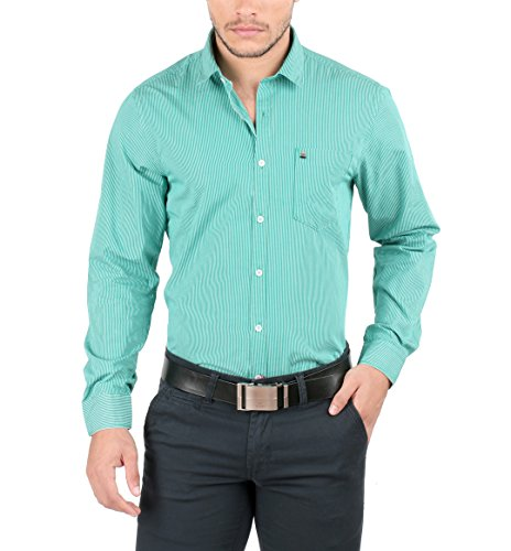 Oxemberg Men's Cotton Semi Formal Shirt