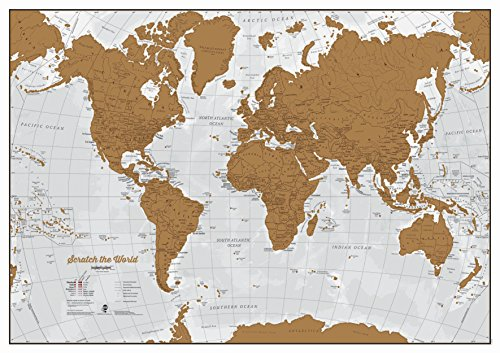Scratch il Mondo - Gratta via i posti in cui viaggi!