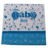 MagiDeal 20pcs Einweg Servietten Baby Servietten Baby Dusche Party Geschirr - Blau, 33 x 33cm