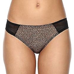 PrettySecrets Womens Bikini (102156_Black_S)
