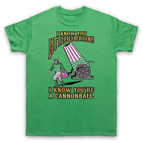 Inspiriert durch Breeders Cannonball Unofficial Herren T-Shirt Grun