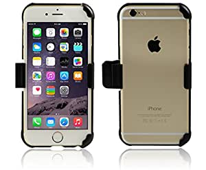 monsoon Slim-Profile Holster with Rotating Belt Clip for iPhone 6 6S (Fits iPhone 6 by itself)