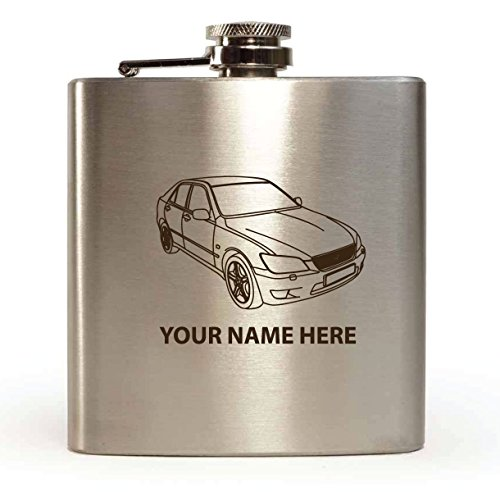 lexus-ls200-design-personalised-6oz-hip-flask-with-gift-box-funnel