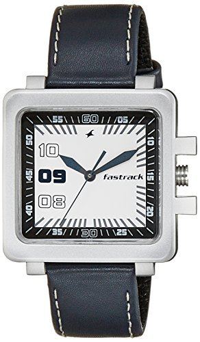 Fastrack Essentials Analog White Dial Men\'s Watch - NC747PL01