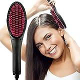 WUHX Kamm-Haarkamm der geraden Haare 110 / 220V elektrische elektrische Steuerbürste der hohen Qualität mit LCD-Anzeige für alle Haartypen beseitigen das Frizzing Haartrockner