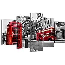 Cuadro sobre lienzo - 5 piezas - Impresión en lienzo - Ancho: 150cm, Altura: 100cm - Foto número 2674 - listo para colgar - en un marco - EA150x100-2674