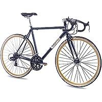 CHRISSON 28 pulgadas Carreras Urban Rueda Bicicleta Vintage Road 1.0 con 14 g Shimano Retro