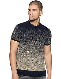 Indigo Nation Men's Solid Slim Fit T-Shirt