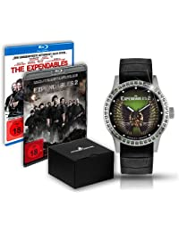 Jacques Lemans Damen-Armbanduhr The Expendables 2 Analog Quarz Leder E-225.1