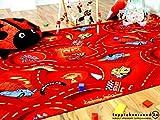 Snapstyle Spiel Kinderteppich Disney Cars Rot in 24 Größen