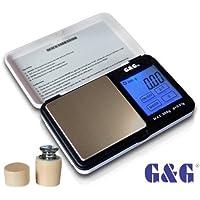 G & G TS-WB+G 300g/0,01g + Kalibriergewicht Taschenwaage Feinwaage Digitalwaage Goldwaage Münzwaage