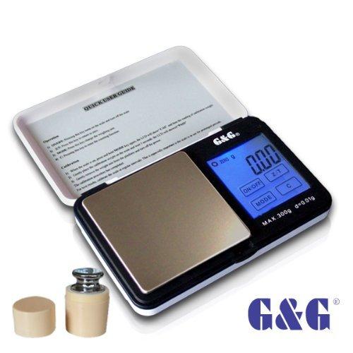 G & G TS-WB+G 300g/0,01g + Kalibriergewicht Taschenwaage gebraucht kaufen  Wird an jeden Ort in Deutschland
