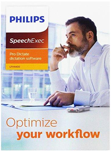 Philips LFH4400 SpeechExec Pro Dictate professionelles Workflow-Software DVD Unterstützung