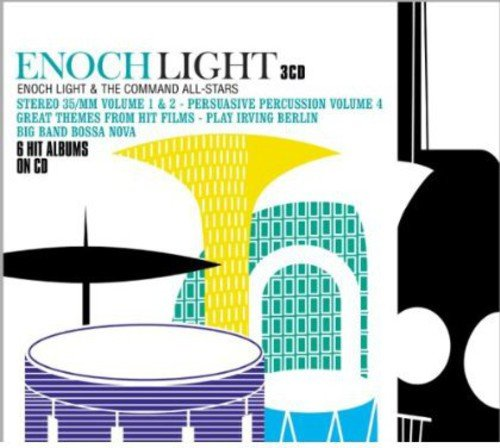 6 Hit Albums on CD Enoch Light