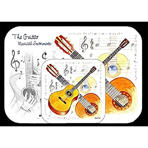 Mousemat & Coaster Set - Guitar