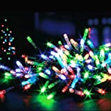 Premier Decorations – LED Christmas Lights for Indoor and Outdoor Use, with timer 100 multicoloured