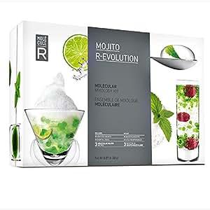 Kit Coffret Cuisine Moléculaire : Cocktail Mojito Moléculaire