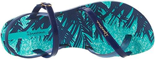 Ipanema Damen Fashion Sand IV Fem Zehentrenner Mehrfarbig (green/blue)
