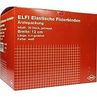 DRACOELFI elast.Fixierbinde 12 cmx4 m gekreppt 20 St Binden preisvergleich bei billige-tabletten.eu