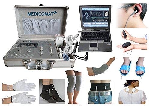 Erkennung, Analyse und Therapie Computer Aided Gesundheit Werkzeug Medicomat-291G Auto-Auswahl der Akupunkturpunkte am Ohr Hand-Fuß Körper Zurück Knie Ellenbogen Arm-Bein - Ohr Therapie