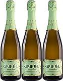 Griesel Sekt Chardonnay Prestige 2015 Brut nature (naturherb) (3 x 0.75 l)