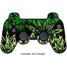 Pelle for PS3 Controller Decalcomania Playstation 3 Adesivo - Sony DualShock Wireless Controllore Sixaxis Gioco Sticker Skins - Weeds