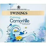 Twinings Calming Camomile 80 Tea Bags (Pack of 4, total 320 Tea Bags)