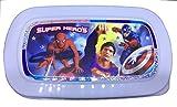 Varg Lunch Box for Kids 3 Super Hero captain america superman Spider man