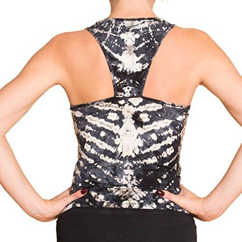 Panasiam® qualitäts Leggings & Tops, aus Naturmaterial, passt M bis L, skinny & stretchy, super wohlfühl Top N006 in zebra2