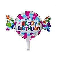 DescrizioneQuesto articolo è fabbricato con premium mylar con bel colore e speciale buon compleanno a te disegno stampato. Può essere utilizzato ripetutamente con conveniente inflazione e deflazione. Grande dono per i bambini durante il loro ...