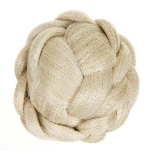haarknoten-zum-einstecken-min-gittereffekt-geflochten-platinblond-glamouroses-haarteil-zum-anstecken