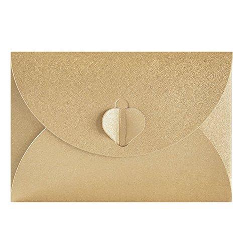 50pcs Papier kraft Enveloppes,En...